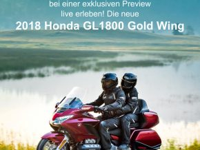 Gold Wing Preview Einladung