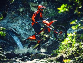 Action KTM 150 EXC TPI MY2020